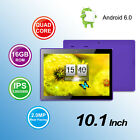 "10.1'' 9"" Inch Tablet PC Android Quad Core 16GB/8GB HD WIFI Dual Camera WiFi US"
