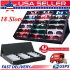 5PCS x 18 PAIR QUALITY EYEGLASS SUNGLASS GLASSES STORAGE DISPLAY CASE BOX