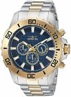 Invicta 2254 Men's Pro Diver Chronograph 50mm Watch - Choice of Color