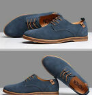 2019 Suede European style leather Shoes Mens oxfords Casual Multi Size Fashion