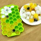 Cake Mold Bee Honeycomb Flexible Silicone Mould For Candy Soap Cookie 6L