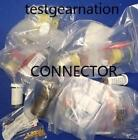 LOT OF 60 PCS 499374-2 CONNECTOR HEADER VERT GOLD NEW OLD STOCK