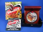 2014 $1 TUVALU 1oz SILVER PROOF COIN DEADLY & DANGEROUS. SPIDER-HUNTING SCORPION