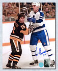 Pat Boutette Pittsburgh Pengiuns Autographed 8x10 Photo
