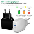 USB Phone Charger Qualcomm Quick Charge 3.0 Fast USB Charger Travel Wall Charger