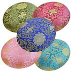 RoundShape Cover*Chinese Rayon Brocade Floor Chair Seat Cushion Case Custom*BL19