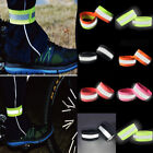 Внешний вид - 2Pcs Sport Running Safety Reflective Arm Band Belt Strap Night Glowing Wristband