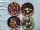 Star Trek Limited Edition Commemorative Anniversary Plates Excellent Fast Post on eBay