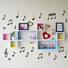 Music Notes Wall Art Removable Decal Vinyl Stickers Kid's Room Laptop Car Fridge