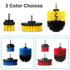 3Pcs/Set Cleaning Drill Brush Wall Tile Grout Power Scrubber Floor Cleaner Combo