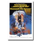 Diamonds Are Forever 20x30 24x36inch 007 James Bond Movie Silk Poster Cool Gifts $5.18 CAD on eBay