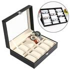 Eyeglass Storage Box Sunglasses Case Glasses Display Grid Holder Stand 18 Grids