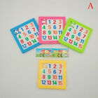 Plastic Building kids educational toys numbers Letter jigsaw puzzle game toys wb