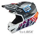 2019 Troy Lee Designs SE4 Comp Jet Red Yellow MIPS Motocross Race Helmet Adults