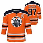Connor McDavid Edmonton Oilers 97 YOUTH NHL Replica Hockey Boys Jersey