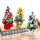 3pcs Mini Tabletop Desktop Christmas Tree Xmas Ornaments Party Wedding Decor AU