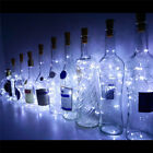 Lot 10/20 20-Leds Cork Shaped Lights String Wine Bottle Lamp Party Home Decor 2M