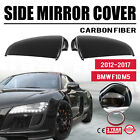 Side Mirror Cover For BMW F10 M5 2012-2017 Light Weight Carbon Fiber Front