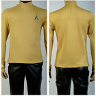 Star Trek Beyond Kirk Sulu Outfit Yellow Shirt Uniform Cosplay Costume on eBay