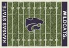 Kansas State University Football Field Rug