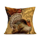 Fall Halloween Pillow Cases Watercolor Sofa Pumpkin Cushion Cover Home Decor New