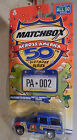 TAHOE POLICE PENNSYVANIA ACROSS AMERICA 50TH BIRTHDAY SERIES  MATCHBOX 1/64  1Y