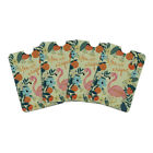 You are Unique Flowers Flamingo Credit Card RFID Blocker Sleeves Set