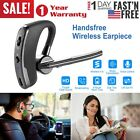 US Headset Wireless V4.0 Handsfree Earpiece Noise Cancelling Microphone Earbud