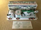 2006 Hess Toy Truck and Helicoper Head Tail Lights Ramp Battery Operated