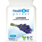 Health4All Purest Lavender 500mg Capsules | ANXIETY, RELAXATION, SLEEP £7.99 GBP on eBay
