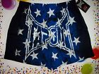 Tapout Underwear UFC Americana Stars and Stripes Mens Boxer S M L XL Black New