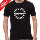 Triumph Motorcycles Sportbike 100% Cotton T-Shirt TRI-0013 $26.99 AUD on eBay