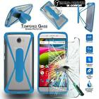 For ARCHOS Mobile Phones Tempered Glass Screen Protector + silicone bumper Case