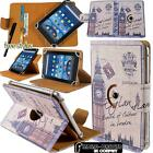 Rotating Stand Leather Case Cover For Amazon Kindle Fire 7 8 10 inch Tablet
