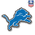 Detroit Lions NFL Football Color Logo Sports Decal Sticker  Free Shipping on eBay