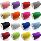 "50/200/400 yard TULLE Roll Spool 6"" Tutu Wedding Gift Craft Bow Decoration"