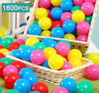 100-800x Kids Baby Swim Pit Toy Colorful Ball Fun Ball Soft Plastic Ocean Ball