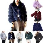 Women's Warm Outwear Short Slim Vest Faux Fur Waistcoat Jacket Coat Thicken New