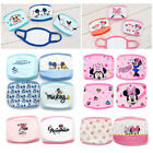Mickey Mouse Kids Face Mask Anti-Dust Cotton Mouth Prevent Cold Infection Cute