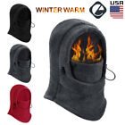 Mens Winter Warm Fleece Balaclava Thermal Motorcycle Ski Hat Full Neck Face Mask