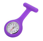 Nurse Watch Light Silicone Brooch Tunic FOB Medical Pocket New Mini Watch Timer