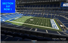 3 Front row Tennessee Titans at Indianapolis tickets section 537 row 1