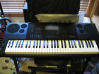 CASIO CK-6200 KEYBOARD with keyborad stand, cover and M-Audio sustain pedal