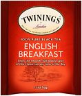 Twinings London English Breakfast Tea Individually Wrapped 25 50 or 100 Tea Bags