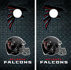 Atlanta Falcons Diamond Plate Cornhole Board Decal Wrap Wraps on eBay