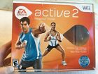 EA Sports Active 2 Wii Personal Trainer with Heart Rate Monitor, Band, DVDs