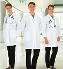 Medical White Lab Coats Uniforms For Men-For Laboratory Industrial  Medical Use