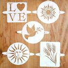 Breadtopia Bread Baking Cakes Pies Stencils Home Kitchen Decorating Tool New