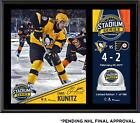 Chris Kunitz Pittsburgh Penguin 12x15 2017 Stadium Series Plaque & Game-Used Ice