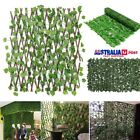 Expandable Artificial Hedge Leaf Roll Fence Decorations Garden Patio Yard Screen